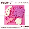 Impressão de silicone molde fondant, decoração do bolo molde, recém-chegados!