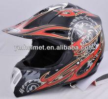 fashion safe motor cross motorcycle helmet YM-910
