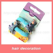 soft PVC Children's mini elastic hair bands