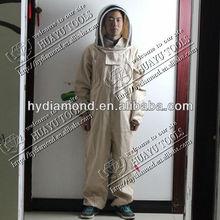 vestuário de protecção para os apicultores