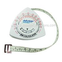 Triangle-shaped BMI Tape Measure Calculator