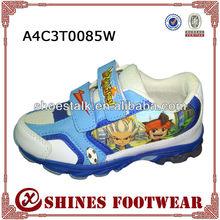fashion waterproof kids running shoes