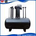 pequeño tanque de diesel aplicado en limpieza de tuberías de aceite