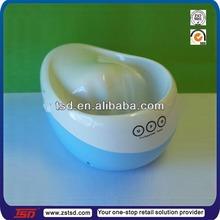 TSD-PZ203 retail electric manicure nail bubble spa bowl/ plastic spa manicure bowl/ certificated electric manicure bowl
