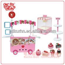 Fashion plastic eco toy doll accessories combination / child love dolls
