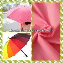watertaffeta for umbreller personal handed umbrella fabric