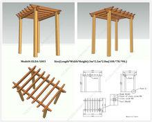 wooden garden arch OLDA-5003 3m*2.2m*2.8m