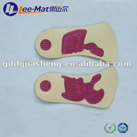 3/4 PU & TPU Physical Therapy Function Foot Pads, air massaging insoles