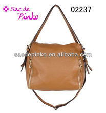 Casual leather/pu tote bag multi-founctionable pocket hobo handbag(02237#)