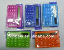 mini plastic calculator ,multicolor electric calculator,general purpose calculator