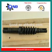 High precision micro steel worm shaft(best supplier)