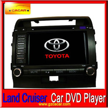 """8"""" touch screen dvd player for Toyota Land Cruiser car stereo with FREE GIFT--1 original camera"""