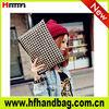 fahion 2013 dark white stone pattern handbags