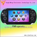 Fashinal 4.3 pulgadas tft de alta de la pantalla de la consola de juegos para descargar gratis tv juegos sega/gba super juegos