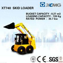 Skid Steer loader XT740(small skid loader) of crawler skid steer loader