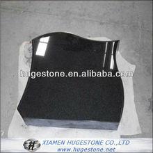 headstone children upright black headstones, small black headstone from China