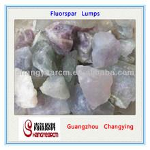 Natural Mines CaF2 85%min Fluorspar lumps