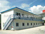 prefab house manufacture in China
