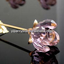 Crystal Flower For Wedding Glass Wedding Favors