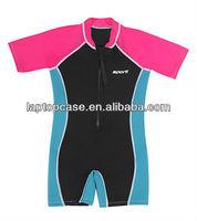 Shorty CR neoprene spring suit, top quality spring surfing wetsuit, 2-3mm neoprene wet suit, Children's wet suit, sportswear