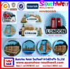 customized 3D resin country souvenir fridge magnets