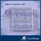 Hot sale Fuzhou Crystal transparent packaging plastic Boxes(CPK-OP-7.75*9)