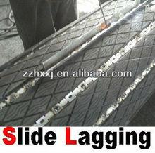 slide lag lagging rubber pads