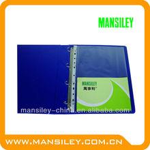 pocket clear sheet protectors/clear plastic folder sheet protectors/pp sheet protector