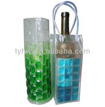 PVC waterproof wine pouch cooler bag
