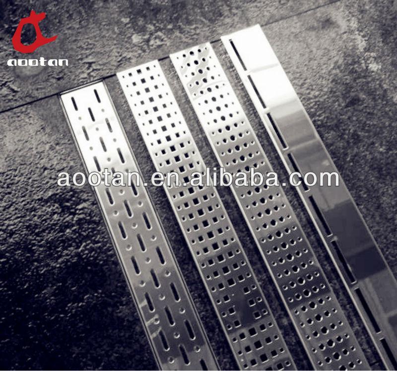 Bathroom Floor Drain Types : Stainless steel shower floor drain view