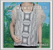 factory wholesales graceful cotton emboridery vest