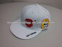 fashion mens stylish snapback cap with embroidery logo