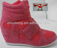 2013 fashion women Increased within shoes ,pink,beige,black shoes