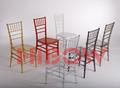 resina cadeira tiffany para eventos