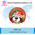 decoración de cumpleaños de adultos de globos de fiesta