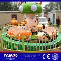 CUTE! baby swing rides ladybug children playground