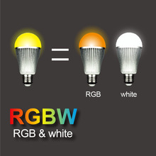 2.4G color changing led smart light bulb, fully touch sensitive RGB LED Bulb