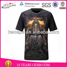 High quality New arrival Sublimation 100% cotton 3d t shirts