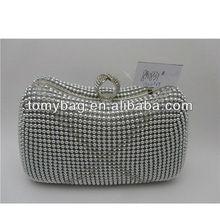 Fashion ladies beads evening bags hong kong