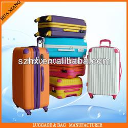 PC hard travel luggage set