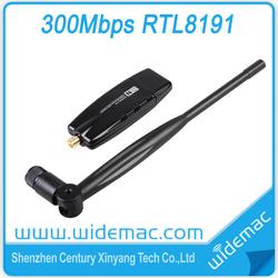 802.11N RTL8191 USB Wireless Network Adapter with Detachable 5dBi Antenna (SL-1504N)