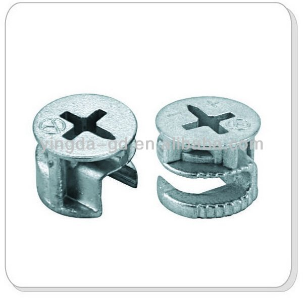 Furniture eccentric metal joint connector furniture joint for Furniture joint connector