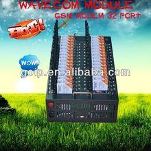 Newest !!!Bulk sms sending GSM modem 32 channels,modem pool 32 wifi rs232
