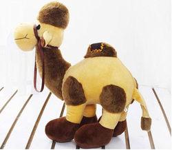 Custom stuffed plush camel toy