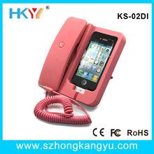 Offer KS-02DI Healthy Retro big Mobile Phone handset holder for iphone