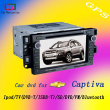 7inch Touch Screen Car dvd player with gps captiva