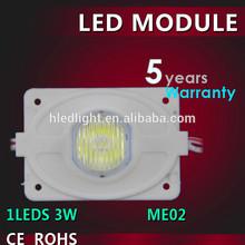 3W LED Module 100Lm 8000K / Shenzhen Factory in China / 5 year warranty