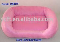 08401 plush and stuffed pet dog bed, pet bedding