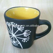 120cc ceramic chalk mug or hand writing mug