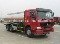 sinotruck howo 19000L fuel tanker truck